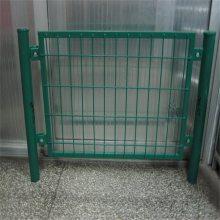 旺来桃形柱护栏网 园林市政护栏网 养殖围墙网