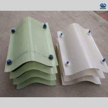 加工玻璃钢收水器,冷却塔收水片 挡水片160-45型淋水片 河北华强