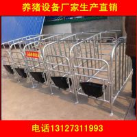 出售育肥猪定位栏/母猪保胎栏养猪设备