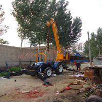 得力15米及米以下电线杆挖坑机报价 电线杆挖坑机 立杆挖坑一体机价格