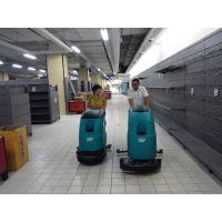青岛商场保洁用特沃斯T45B手推式洗地机