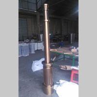 供应不锈钢钛金罗马柱 装饰立柱定做