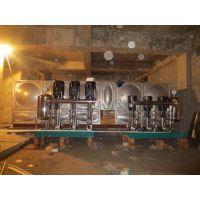 供应10T-100T不锈钢箱式无负压供水设备