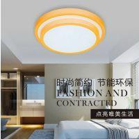 LED卧室吸顶灯 圆形书房过道小客厅简约现代时尚儿童房间灯具灯饰
