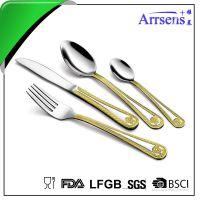 高档不锈钢西餐餐具牛排刀叉不锈钢勺子西餐厨具用品批发