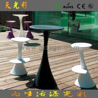出口品质 简约塑料吧椅 酒吧时尚椅子 购物中心休闲高脚凳吧凳