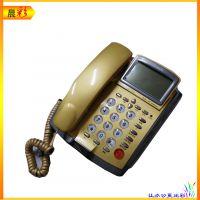 堡狮龙HCD133(16)TSD电话机 商务办公话机 富贵金色 可乐红色可选