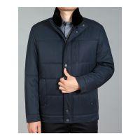 男式脱卸棉衣两件套冬装加厚中长款尼克服男中老年棉服厂价批发