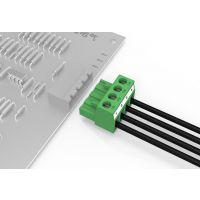 有乐品牌pcb插拔式接线端子4p接插件90度弯插5.08mm绿色环保阻燃UL认证厂家直销批发特价