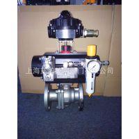 供应意大利LAPAR-单作用 ITS300限位开关法兰球阀,不锈钢球阀