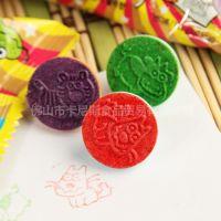 新品 韩国进口 思味十二生肖印章糖果15.2g 儿童玩具糖果70支起批