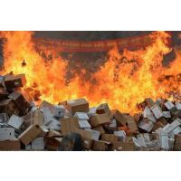 静安区机密文件焚烧处理现场,徐汇区凭证焚烧销毁处理,卢湾区公司档案化浆销毁