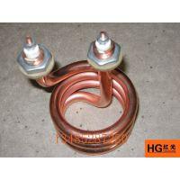 红光供应防水3kw四氟电热管,耐腐蚀电热管,铁氟龙加热管,非标定制电热管