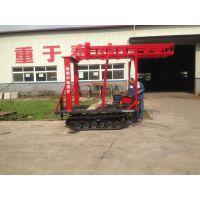 徐州中地100型、150型履带式钻机改装液压塔架,塔泵一体式钻塔