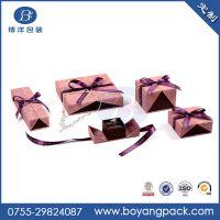 厂家促销价彩印、UV彩色礼品盒 蝴蝶结纸盒定做批发