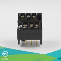 BU7.62D/H 双排栅栏式接线端子 V-0阻燃等级大电流接线端子