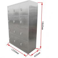 304员工不锈钢衣柜样式思瑞可定制