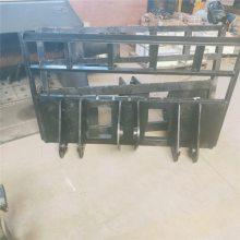 装载机改装叉车两用车图片铲斗与货叉