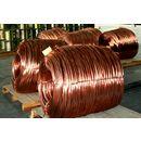 生产厂家销售TU2无氧紫铜线、精细紫铜线批发、紫铜盘圆线