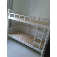 欧胜诺工厂定制直销双层木床 双人宿舍学生床 杉木高低床 上下铺杉木床