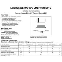 LRC肖特基LMBR0520ET1G RLMBR0530ET1G LMBR0540ET1G