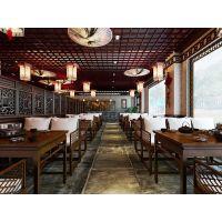 成都 中式家具 中式餐厅 中式私房菜 中式火锅店家具定制