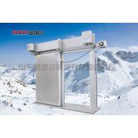 单扇电动不锈钢冷库门,奥纳尔标准冷库门尺寸,冷库门定做生产商,山东冷库门
