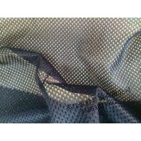 运动服篮球服面料里料5x1涤纶针织经编满天星长丝网布