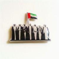全新阿拉伯联合酋长徽章 阿联酋胸章定做