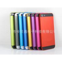 供应 iphone5彩色中框 苹果5代后盖中框 iphone5彩色后盖