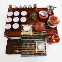 厂家供应特价高档紫砂整套功夫茶具套装 内含紫砂壶茶杯套装