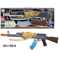 胜丰水弹枪吸水弹枪 水珠弹枪 软弹枪雷神可发射 水晶弹789-6