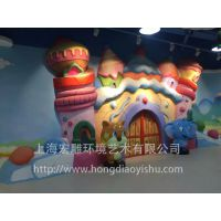 上海雕塑公司宏雕雕塑泡沫玻璃钢婚庆节庆园林景观雕塑商业美陈雕塑