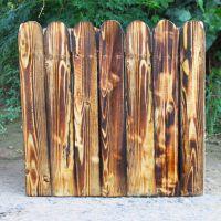山东花箱价格 户外组合花池批发 绿化木箱子 木质