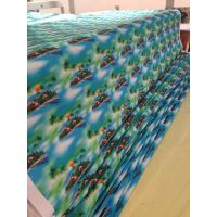 针织布数码印花面料加工 热升华印花转移印花图案 热转移印花加工