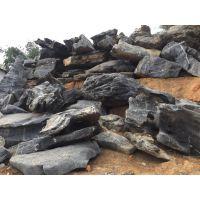 广东太湖石 天然太湖石假山 园林景观驳岸石 英德石假山 颜色偏黑少洞造型好