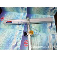KD厂 鹰牌 0.6米玻璃T型推刀 杆长60cm 钢印推尺玻璃刀 蓝轮推刀