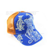 夏季清凉透气网格帽子 网帽工厂定制防晒货车帽卡车帽 女式成人帽