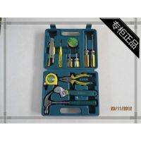 胜达工具套装12件套家用组套工具维修五金工具组合套装工具箱扳手