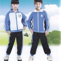 新款幼儿园园服秋季校服运动套装订做高质量立领拼接校服