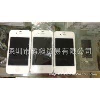 苹果4代iphone4S手机模型 普通版 1:1 IPHONE4S黑色黑屏手机模型