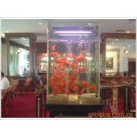 生产大型有机玻璃鱼缸 亚克力透明有机玻璃大型鱼缸水族箱