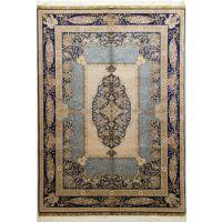 亿丝品牌欧式中心葵波斯地毯手工丝毯波斯地毯工厂直销
