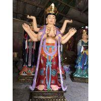 苍鸿佛像厂定做道教神像 二十四诸天神像