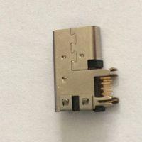 ***新款USB 3.1 TYPE-C侧插加长体款_TYPE C连接器母座14P镀金