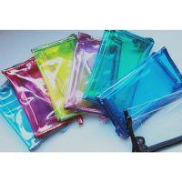 供应韩版透明PVC糖果色手拿化妆包果冻洗漱包