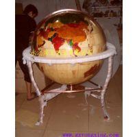 泰国进口橡胶木地球仪、高档礼品、商务礼品、木制地球仪