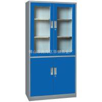钢制文件柜 加厚精品器械玻璃文件柜柜 铁皮文件柜厂家直销