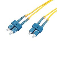 光纤跳线 3米 SC-SC单模 通信系统数据传输局域网光纤传感