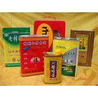 铁罐、龙波森金属包装、山东5L亚麻籽油铁罐